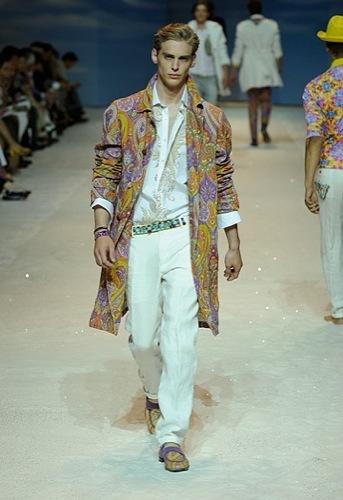 Etro, Primavera-Verano 2010 en la Semana de la Moda de Milán II