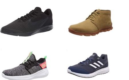 Chollos en tallas sueltas de zapatillas y botas Caterpillar, Nike, New Balance o Adidas
