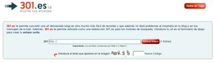 Ración de acortadores de direcciones web: 301.es y Fupi URLs