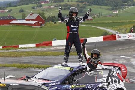 Reinis Nitiss gana y se postula como gran estrella del rallycross mundial