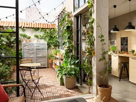 Convierte tu terraza en un vergel con estas inspiradoras ideas de Ikea