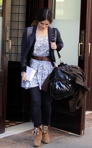 Rachel Bilson no se quita los botines de Chloé: si los quieres, tira de clones