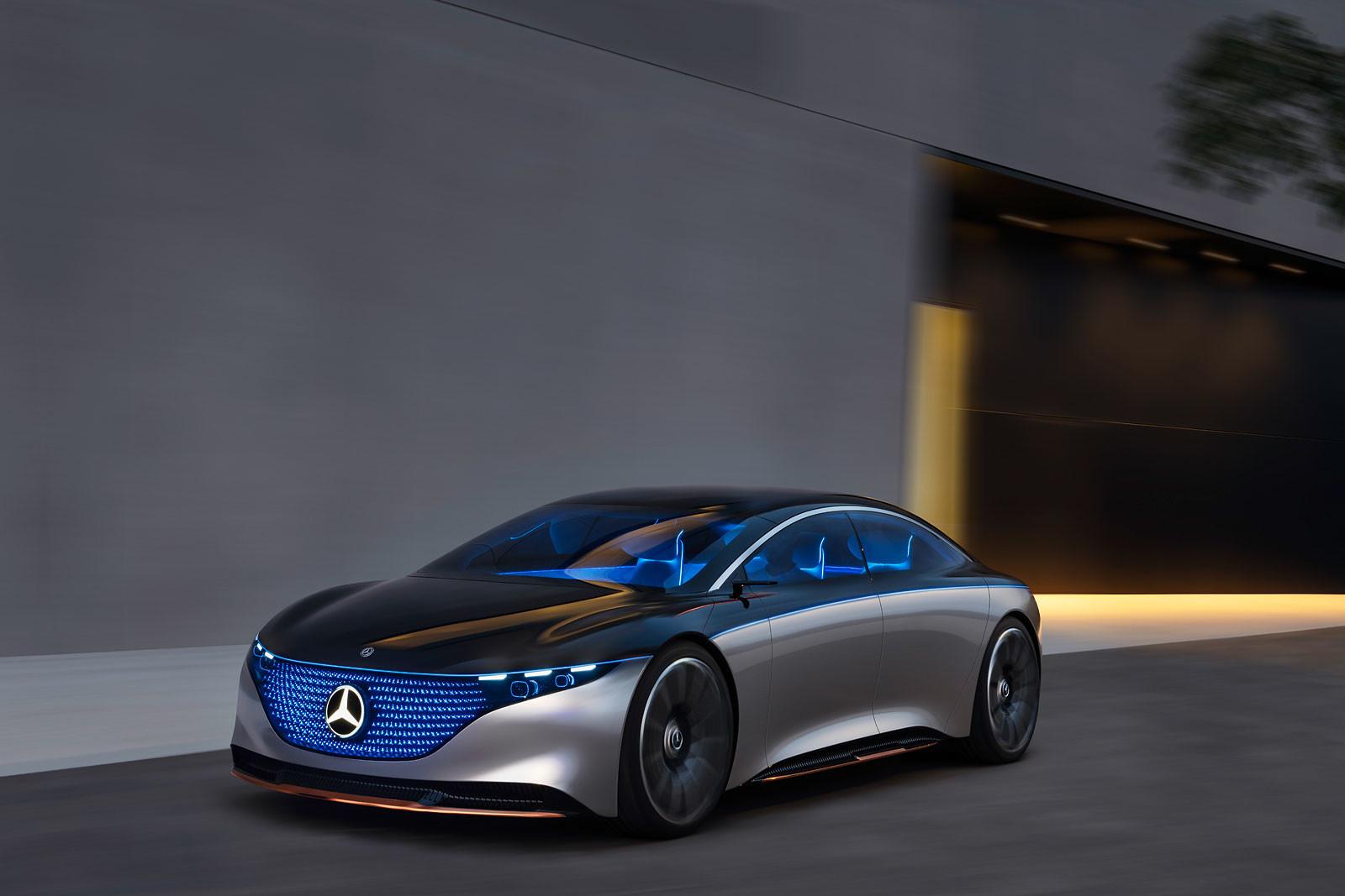 Foto de Mercedes Vision EQS (4/13)