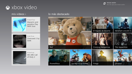 Ten el cine a tu alcance gracias a Xbox Video