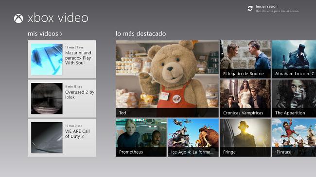 Portada de Xbox Video