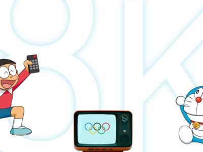 ¿Qué tiene el 8K para que los japoneses quieran ver así sus Juegos Olímpicos? Toda una industria se alinea para ello