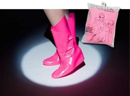 Shuella, protege tus zapatos del agua