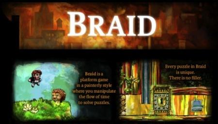Braid será lanzado para Mac gracias a Hothead Games