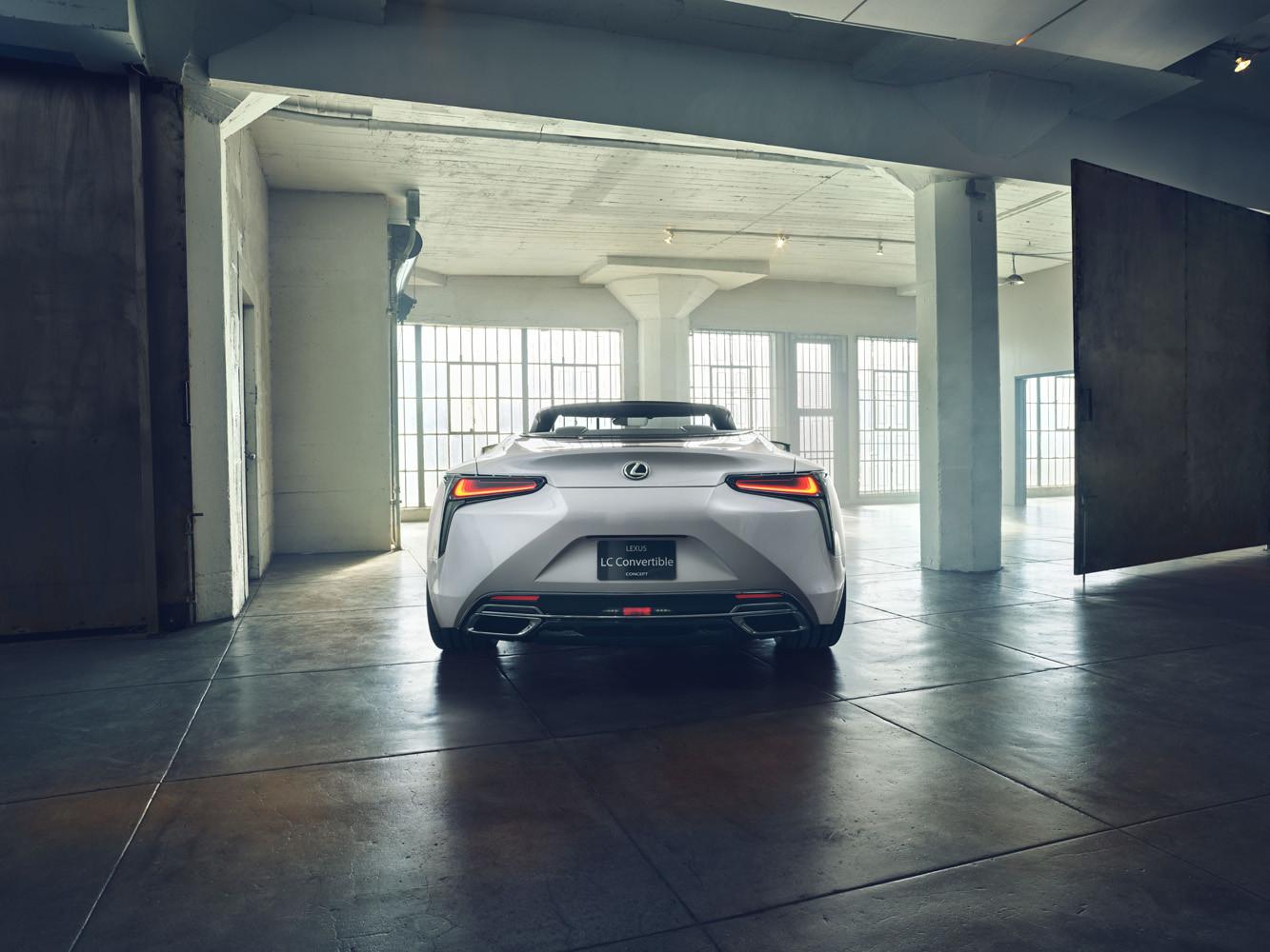 Foto de Lexus LC Convertible concept (4/12)
