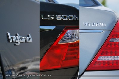 Tricomparativa de berlinas Premium híbridas: A8 Hybrid, S 400 BlueHYBRID y LS 600h