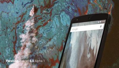 Paranoid Android ya tiene una ROM con Android 5.0.2 en alpha