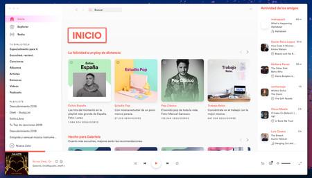 Spotify Tema Blanco