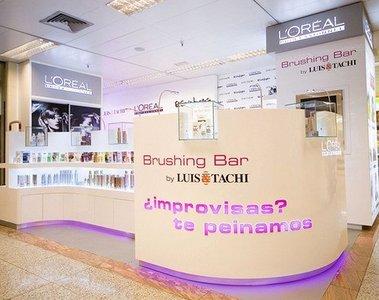 'Brushing Bar' ya en España gracias a L'Oreal