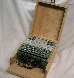 Enigma-e, construye tu propia máquina de cifrado