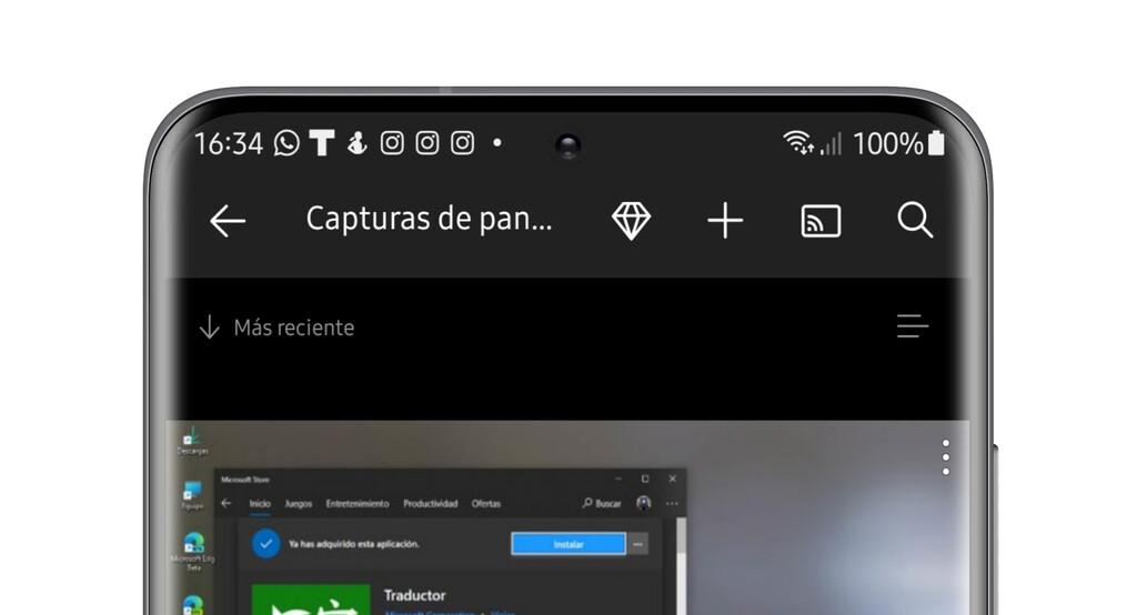 OneDrive se actualiza en Android: ahora podréis enviar contenido al Chromecast℗ directamente desde la nube
