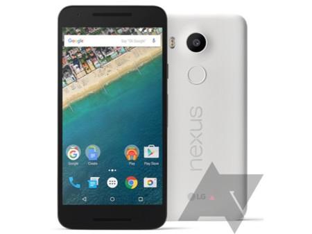 Nexus 5X también se deja ver en sus imágenes de prensa oficiales