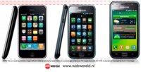 Apple manipula el tamaño del Galaxy S en las pruebas presentadas para demandar a Samsung