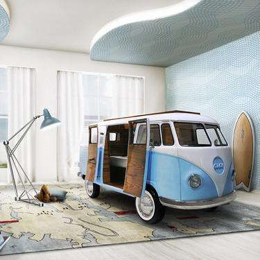 Bun Van, la cama de ensueño que reproduce Filmore, el van de los años sesenta de la película Cars ¿Se la regalarías a tus hijos?