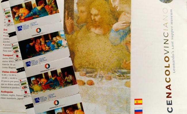 Entradas para La Última Cena de da Vinci Milán