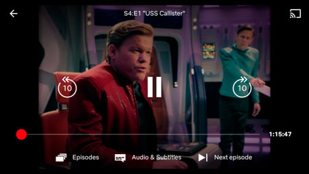 Netflix Reproductor Android