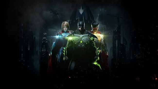 Injustice 2 Batman Superman And Supergirl Qhd 1920x1080
