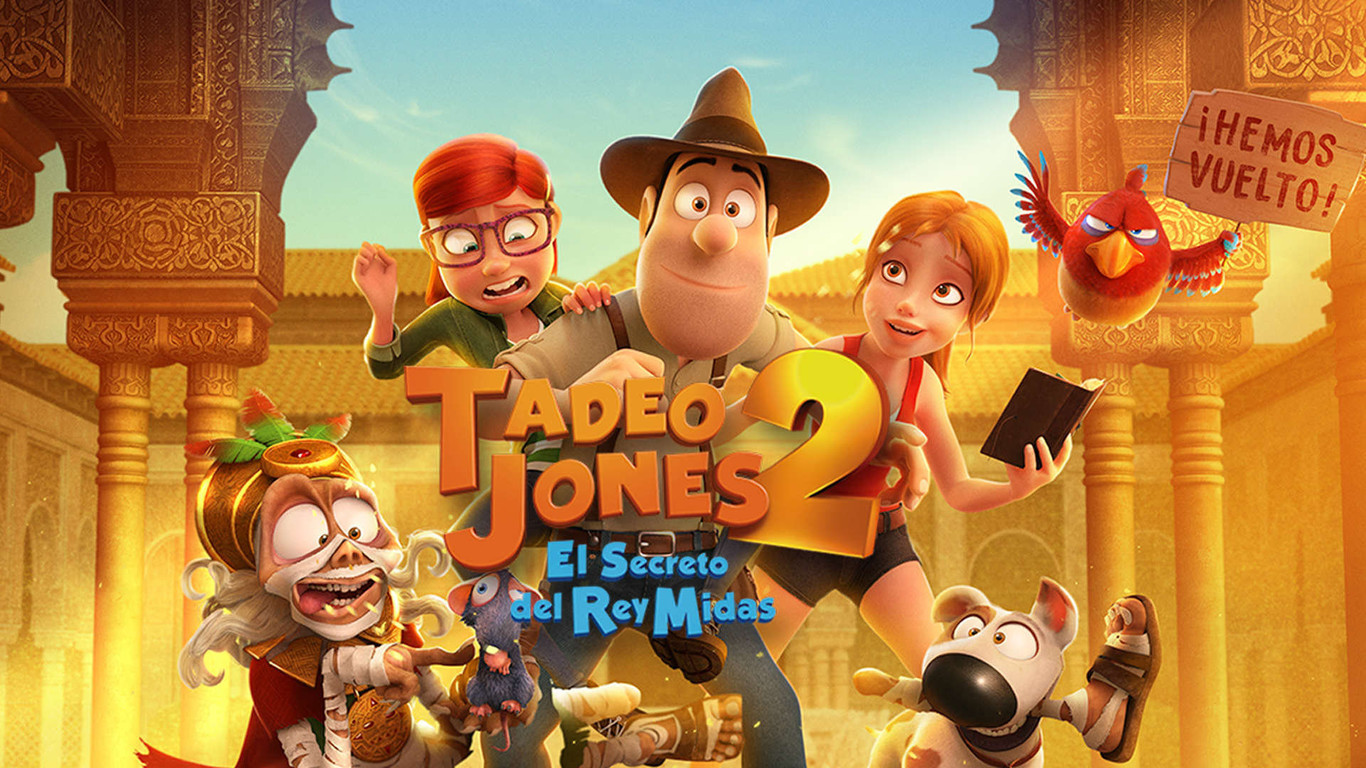Tadeo Jones 2 El Secreto Del Rey Midas 2017 Crítica Más De Lo Mismo