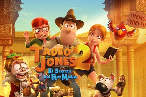 'Tadeo Jones 2: El secreto del Rey Midas', o cómo triunfar en taquilla y ganar un Goya sin aportar nada nuevo