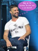 Ricky Martin lo tiene claro: póntelo, pónselo y ale, ¡a retozar!