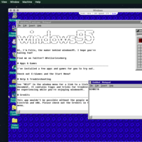 El Windows 95 que funciona como una app en Windows 10, Linux y Mac ahora trae Doom, Wolfenstein3D y el glorioso Netscape Navigator