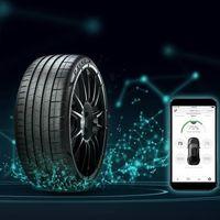 Neumáticos conectados a la red 5G que detectarán problemas en el camino