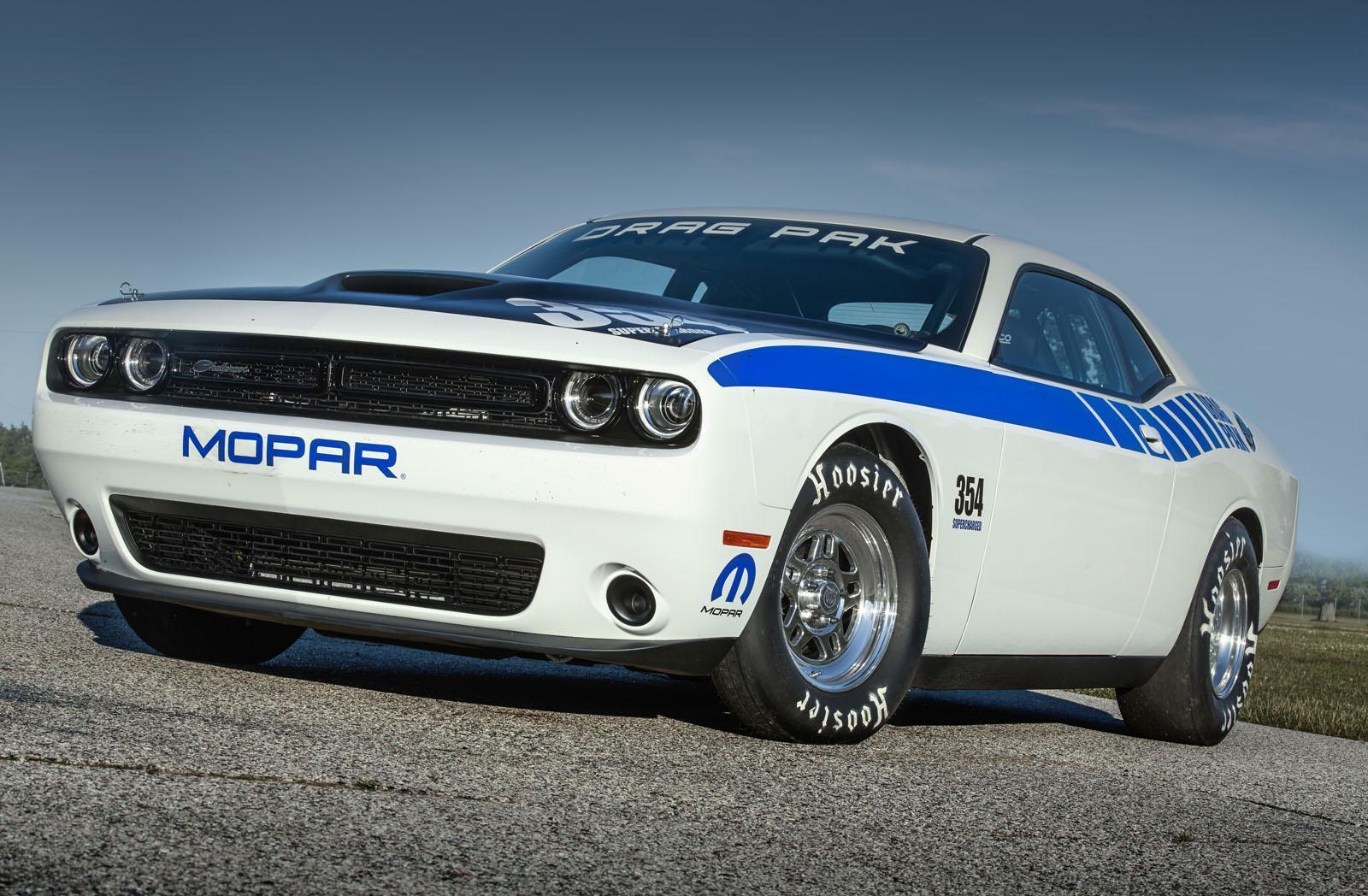 Foto de Mopar Dodge Challenger Drag Pak (8/8)