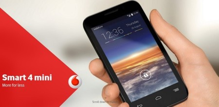 Vodafone Smart 4 mini, toda la información
