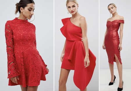 Vestidos Fiesta Rojos Mini