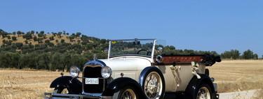 1928 Ford Model A, retroprueba