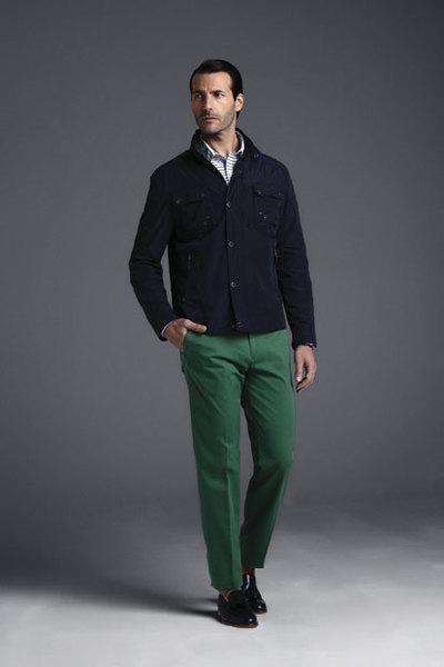 Pantalón verde Pedro del Hierro 2013
