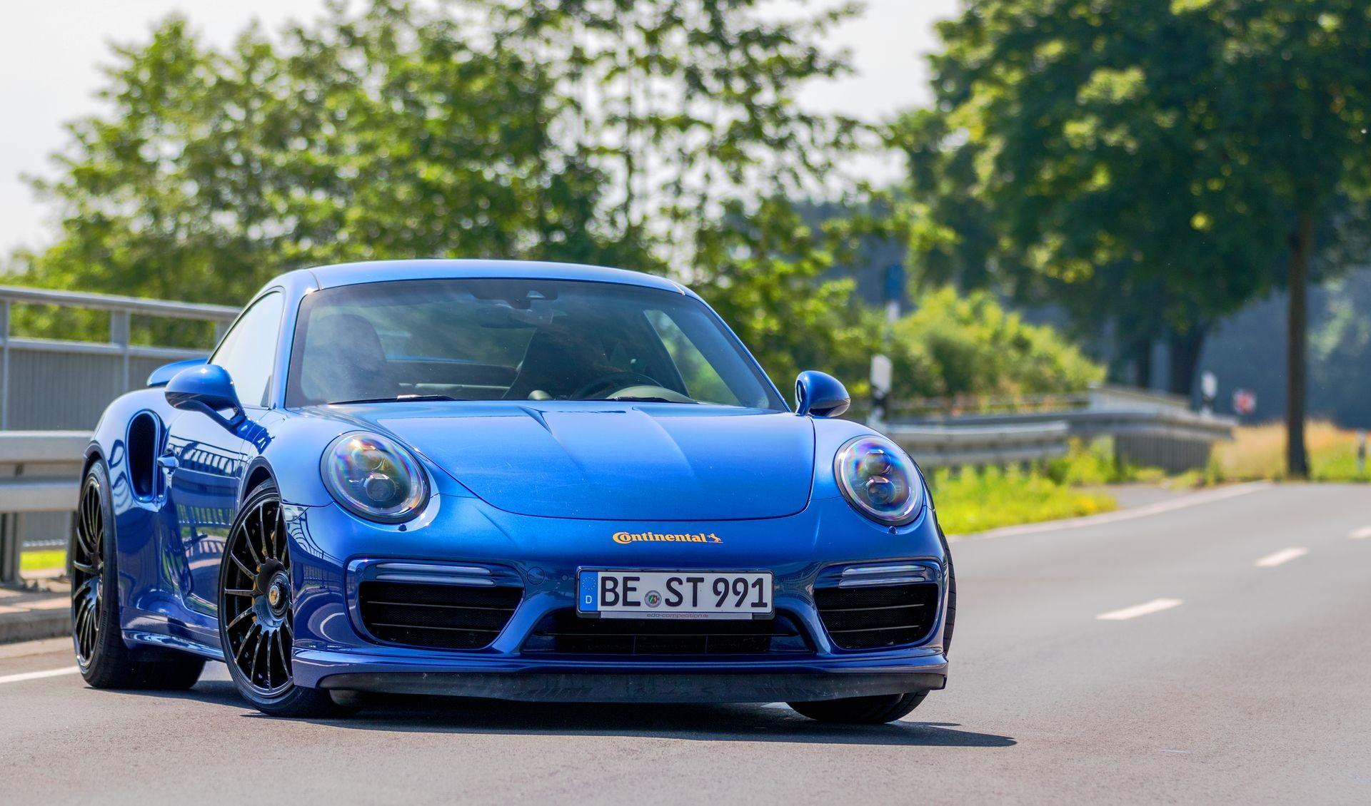 Foto de Porsche 911 Turbo S Blue Arrow (17/25)