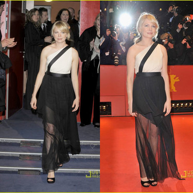 Michelle Williams en la premiere de Shutter Island en la Berlinale