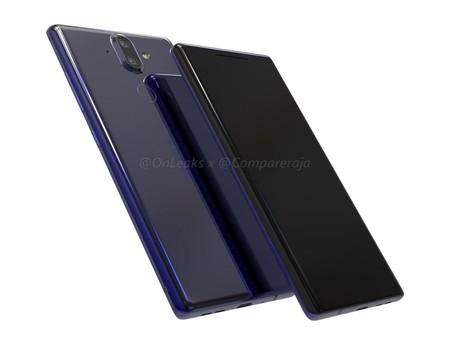 Nokia 9, así sería el segundo estandarte de la compañía: con pantalla curva sin marcos y doble cámara