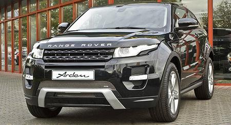 Arden personaliza a su gusto el Range Rover Evoque