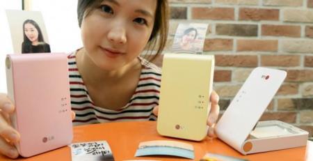 LG Pocket Photo 2, adelgazamiento y colorido para su renovación