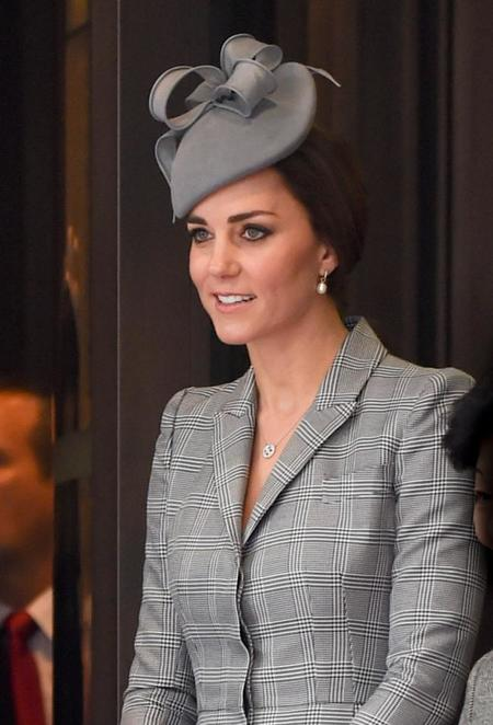 Kate Middleton ha vuelto y el royal baby llegará en abril