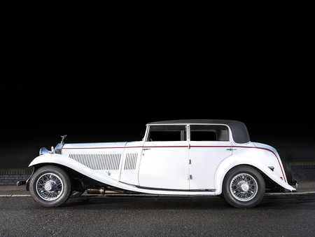 Rolls Royce Phantom Ii 40 50 Hp Continental Sports Saloon By Gurney Nutting 2