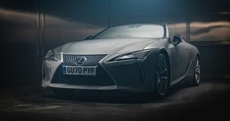 Fiabilidad en vídeo, nivel: Lexus congela un LC Cabrio a -18ºC durante 12 horas y lo pone a rodar a fuego