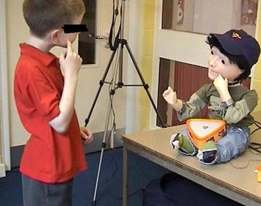 Robot para niños autistas, Kaspar