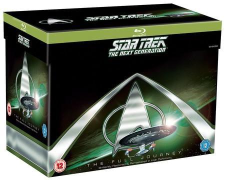 Precio mínimo en Amazon para la serie completa Star Trek La Nueva Generación: 49,65 euros