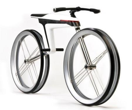 Bicicleta eléctrica: concepto que no usa cables para transmitir energía