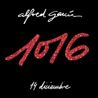 """La imagen promocional del disco de Alfred García está repleta de marcas de agua que indican """"no habéis pagado la foto de stock"""""""
