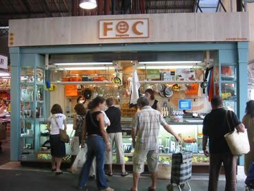 FOC , una tienda nueva en la Boqueria