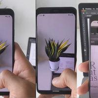 Un proyecto de realidad aumentada permitirá recortar objetos y pegarlos en Adobe Photoshop mediante un smartphone