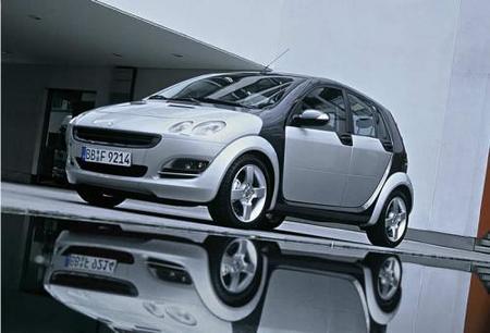 Mercedes podría construir el nuevo Smart forfour con Renault